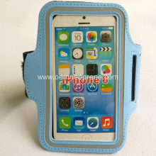 Best Quality Waterproof Blue Neoprene Running Armband